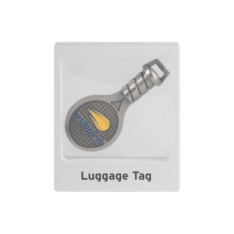 Luggage Tag - Racquet