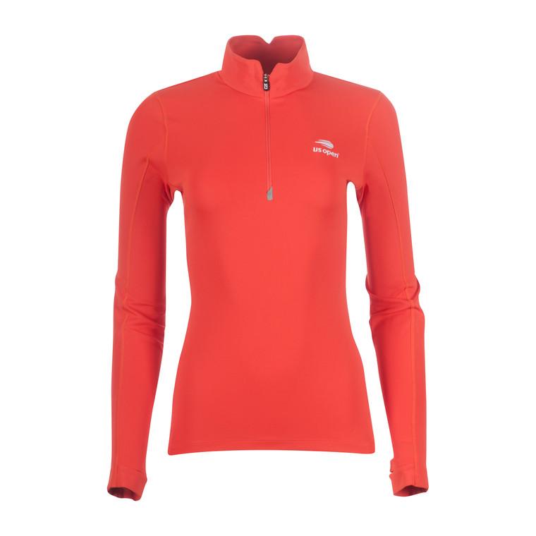 Women's Traverse 1/4 Zip Pullover - Orange