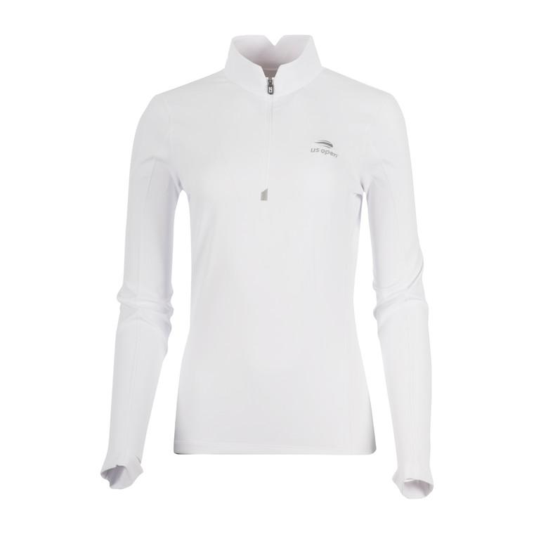 Women's Traverse 1/4 Zip Pullover - White