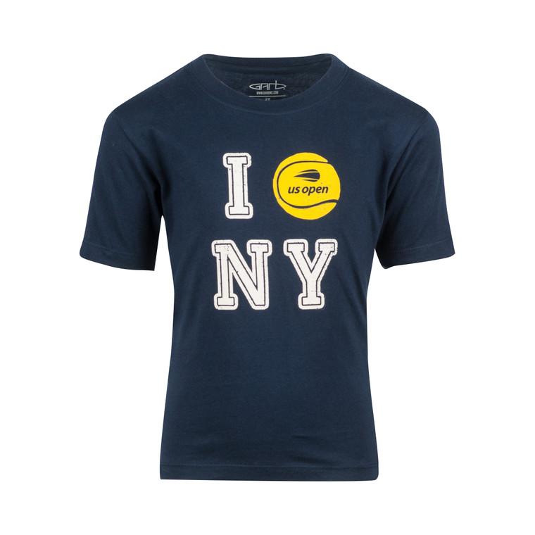 Toddler Tennis NYC T-Shirt - Navy