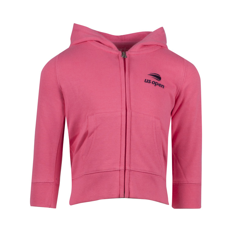 Infant Full Zip Hoodie - Pink
