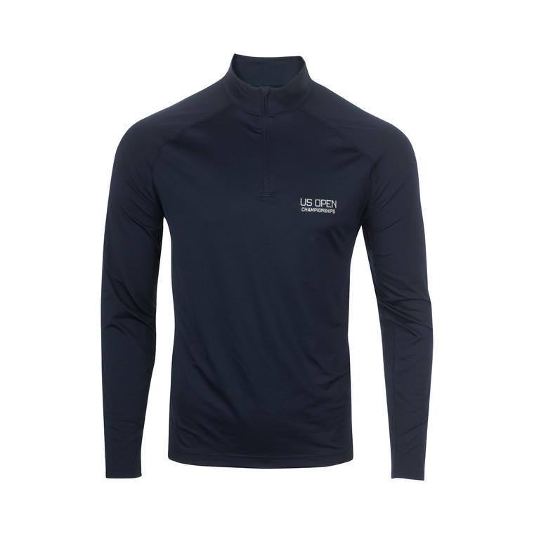 Men's Performance 1/4 Zip Pullover - Navy