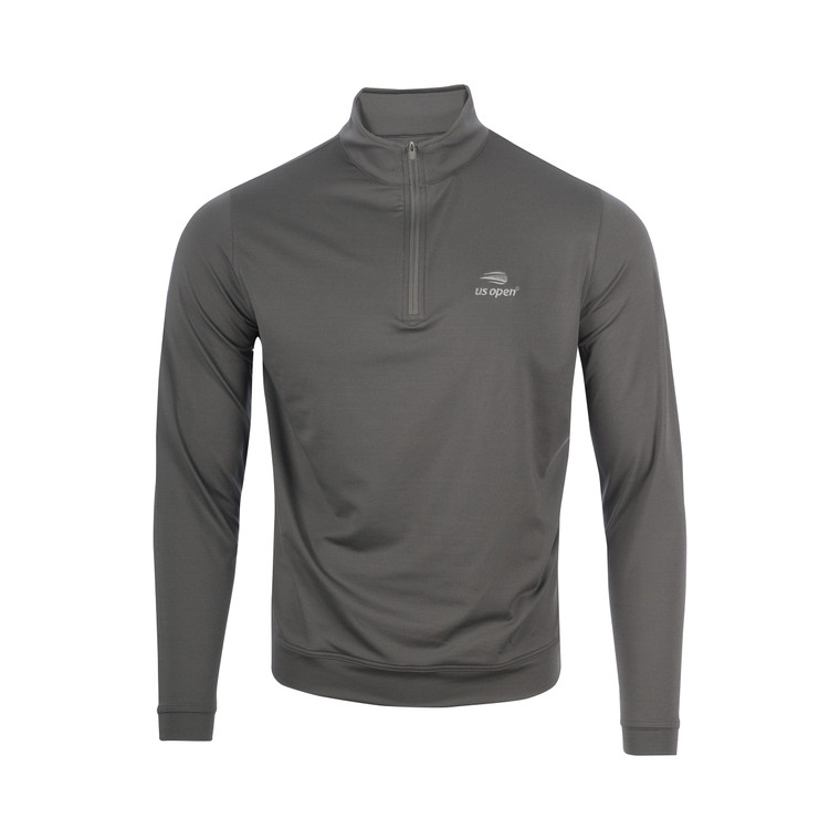 Men's Perth Melange Performance 1/4 Zip Pullover - Iron