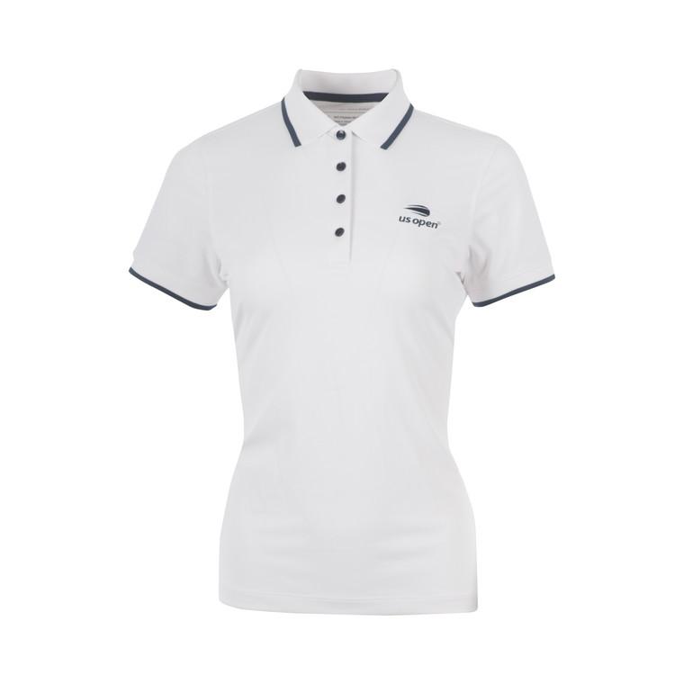 Women's Blair Sport Mesh Polo Shirt - White
