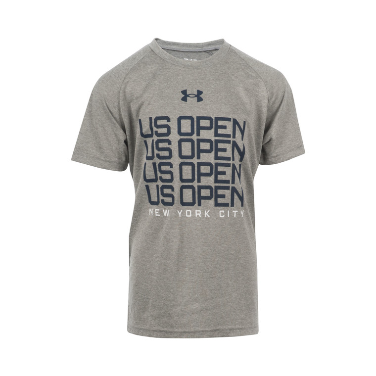 Youth Performance Tech T-Shirt - Grey