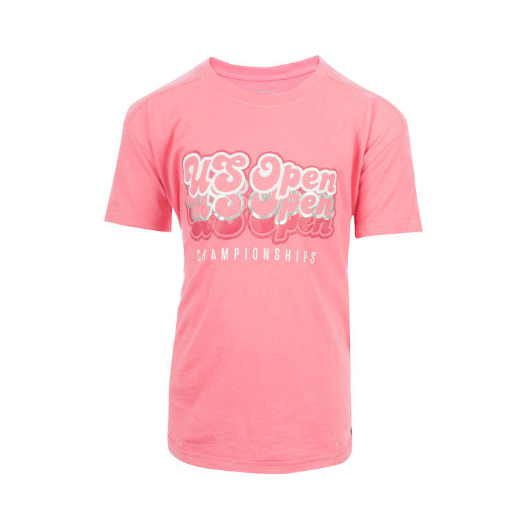 Girl's Performance Cotton T-Shirt - Pink