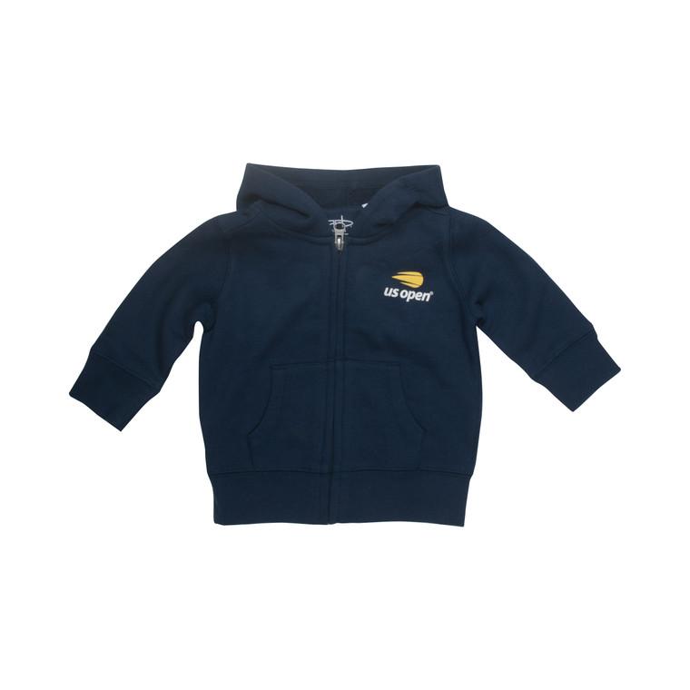 Infant Full Zip Hoodie - Navy