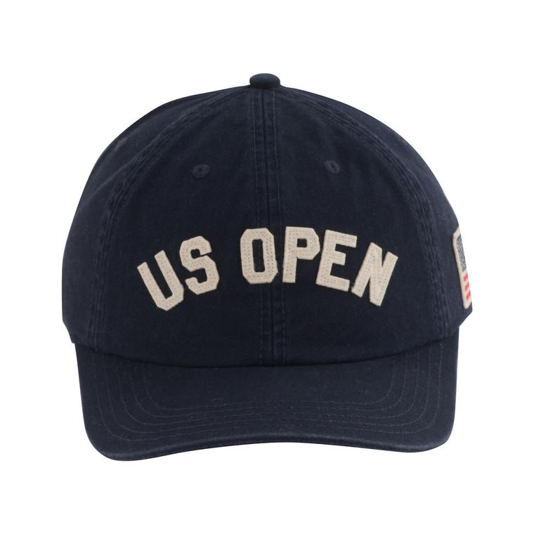 Men's Hepcat with US Flag Adjustable Hat - Navy