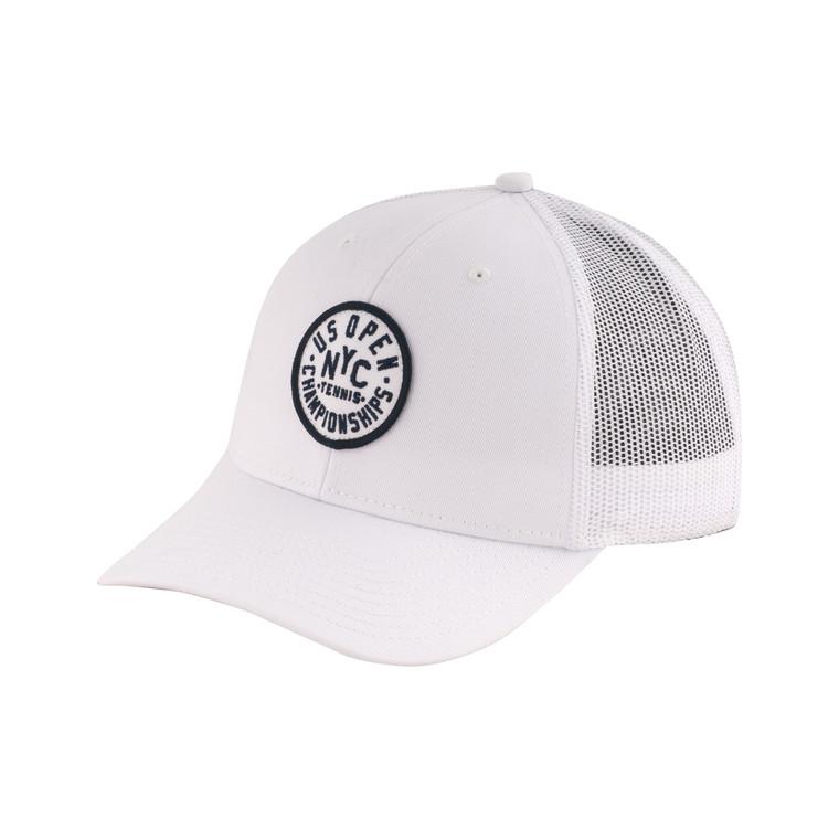 Men's Back Range Adjustable Hat - White