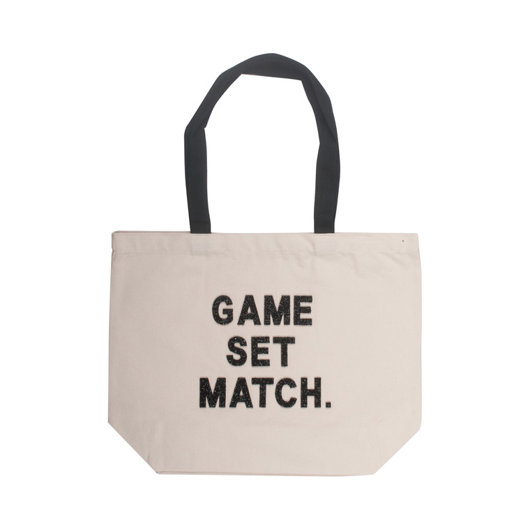 Game, Set, Match Canvas Tote