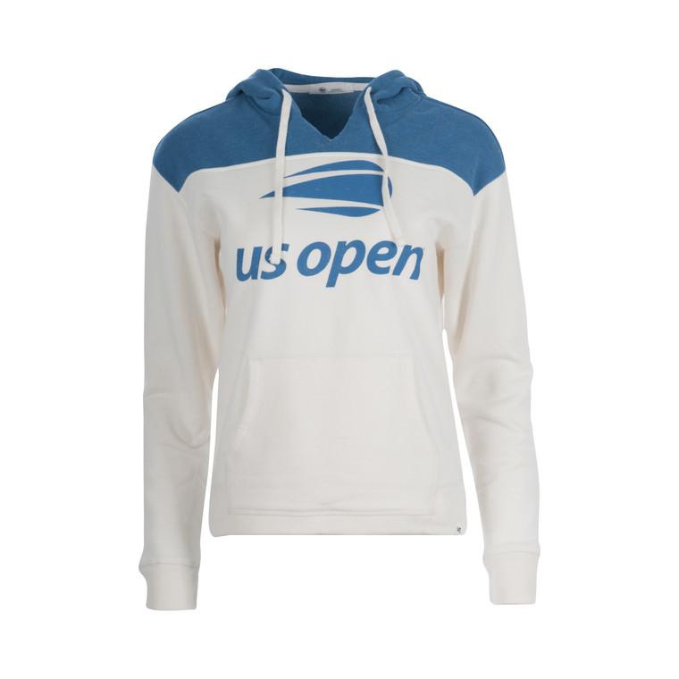 Women's Premier Emerson Color Block Hoodie - White-Blue