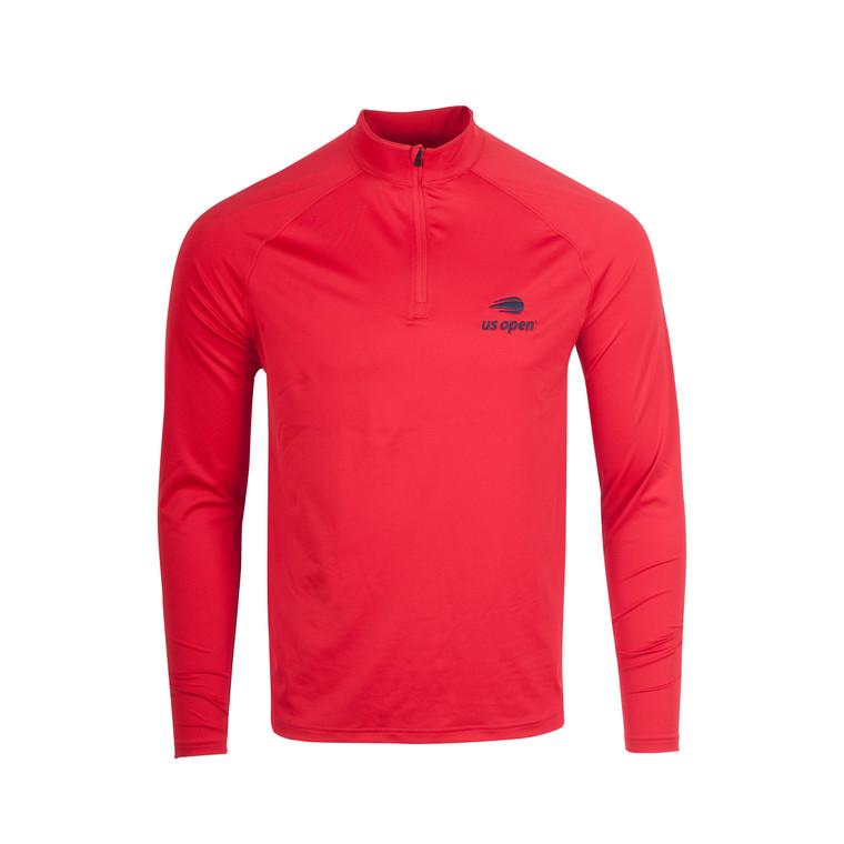 Men's Performance 1/4 Zip Pullover - Red