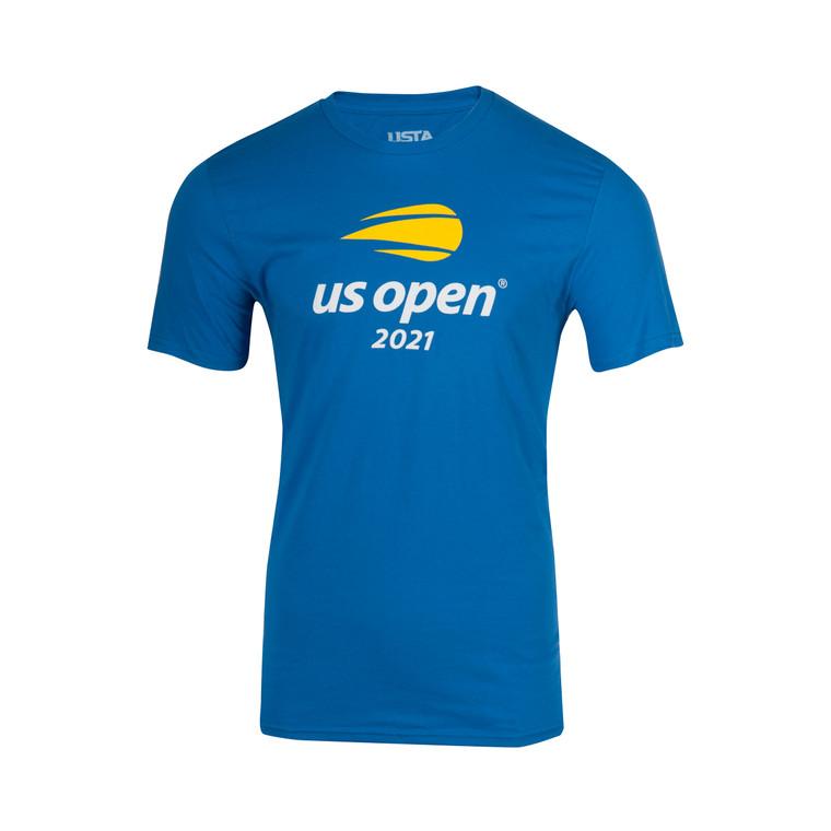 Men's 2021 Official Logo Short Sleeve T-shirt - Blue