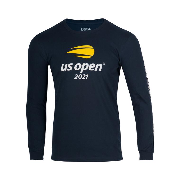 Men's 2021 Official Logo Long Sleeve T-shirt - Navy