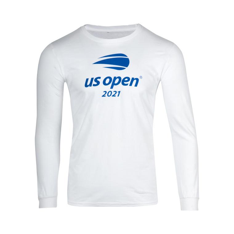 Men's 2021 Official Logo Long Sleeve T-shirt - White