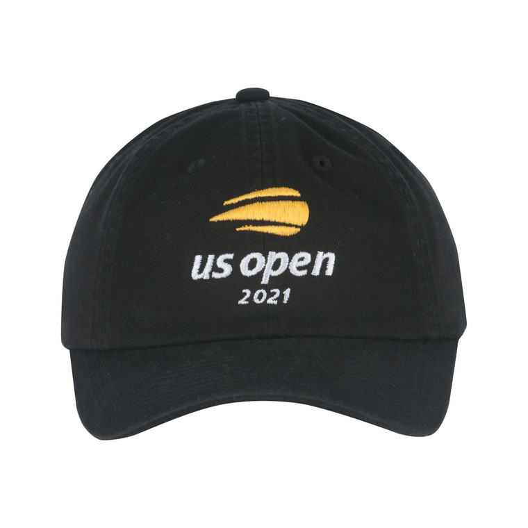 Men's 2021 Washed Slouch Adjsutable Hat - Black