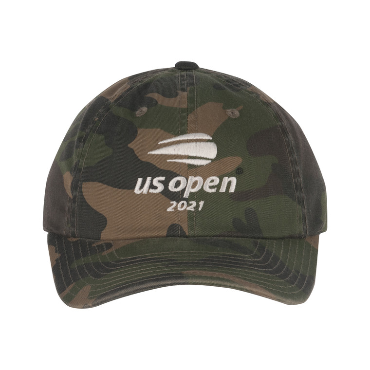 Men's 2021 Washed Slouch Adjustable Hat - Camo