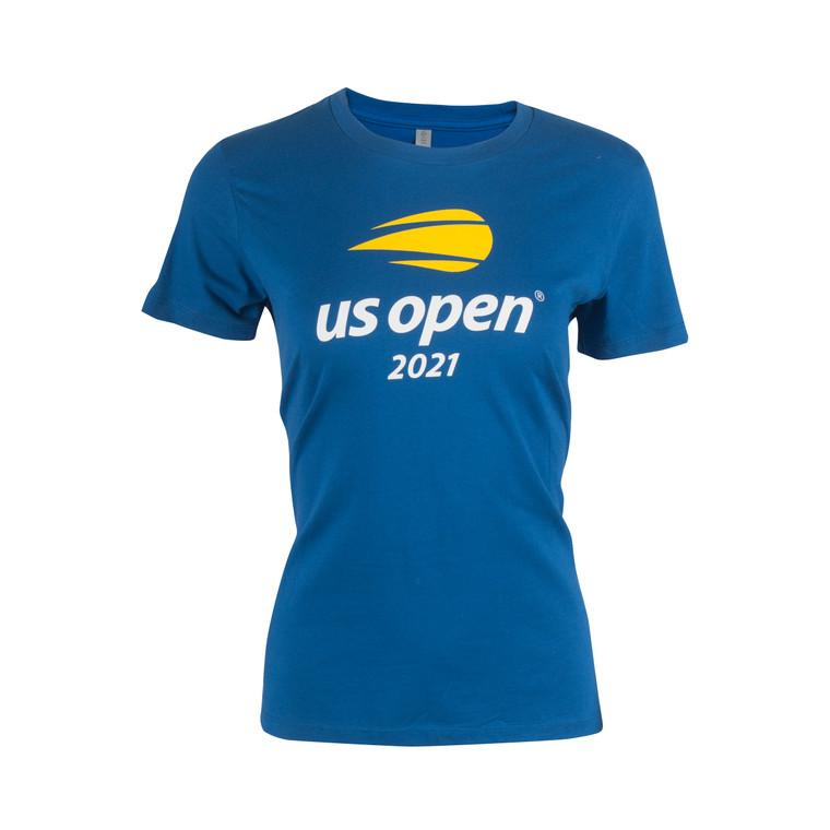 Women's 2021 Official Logo Short Sleeve T-shirt - Blue