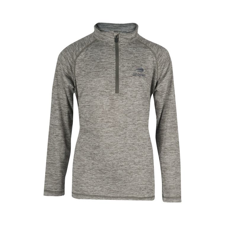 Garb Youth 1/4 Zip Pull Over - Gray