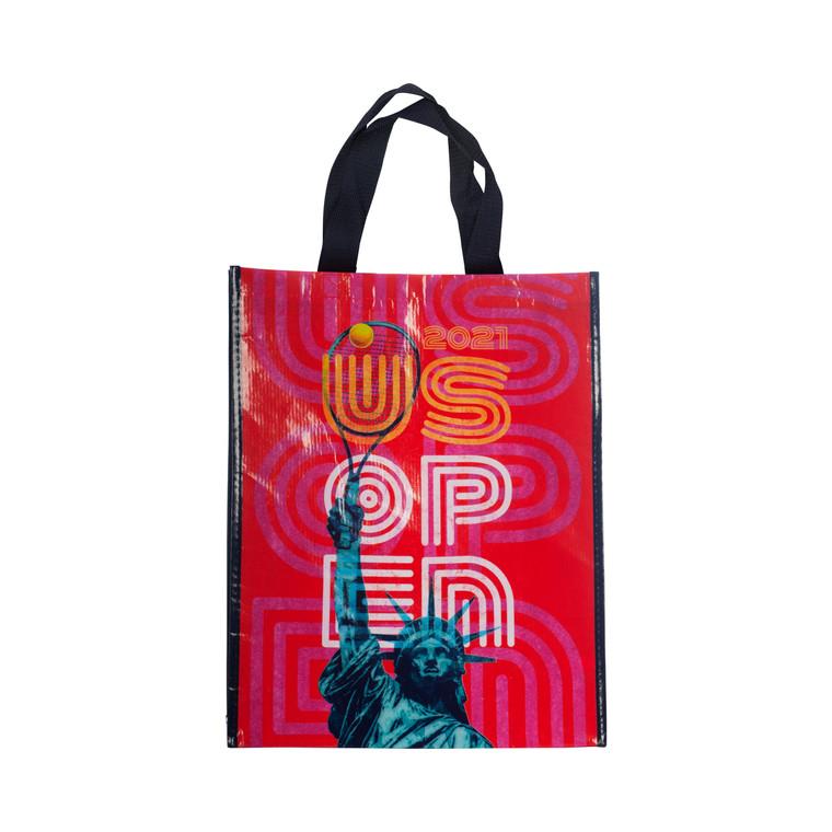 US Open 2021 Theme Art Reusable Eco Tote Bag