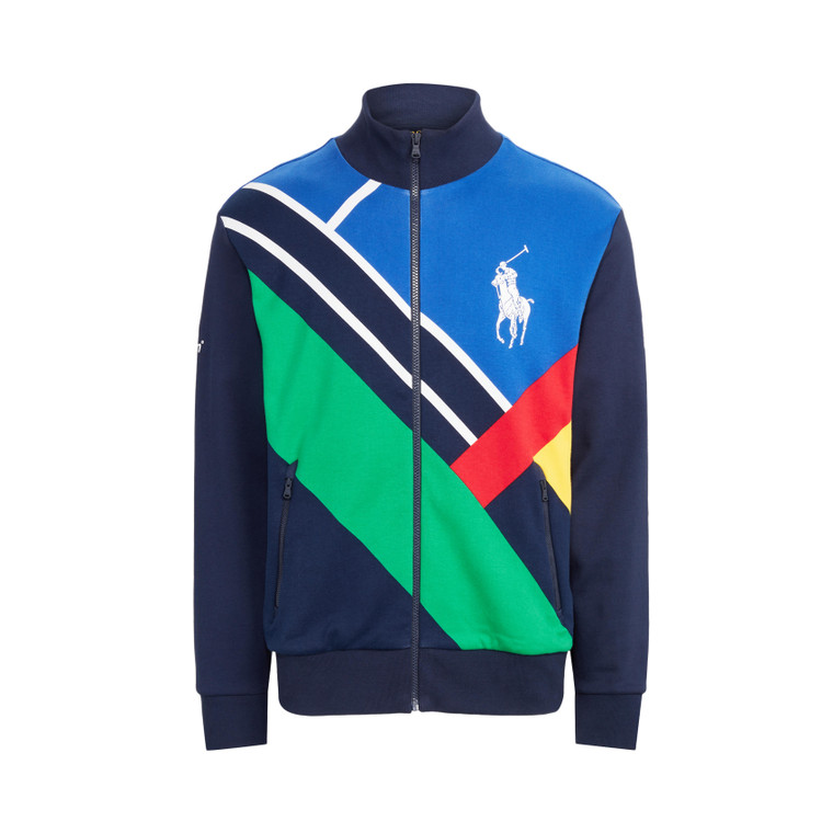 2021 Official On Court Ball Boy Track Jacket by Polo Ralph Lauren