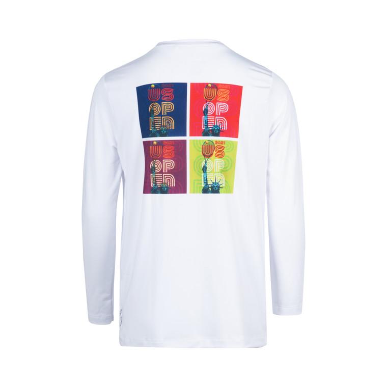 US Open 2021 Youth Theme Art Long Sleeve T-shirt