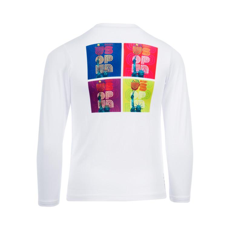 US Open 2021 Toddler Theme Art Long Sleeve T-shirt