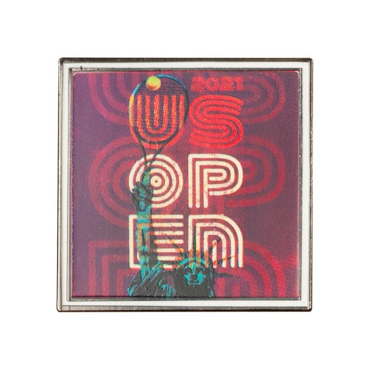 US Open 2021 Theme Art Pin - Purple