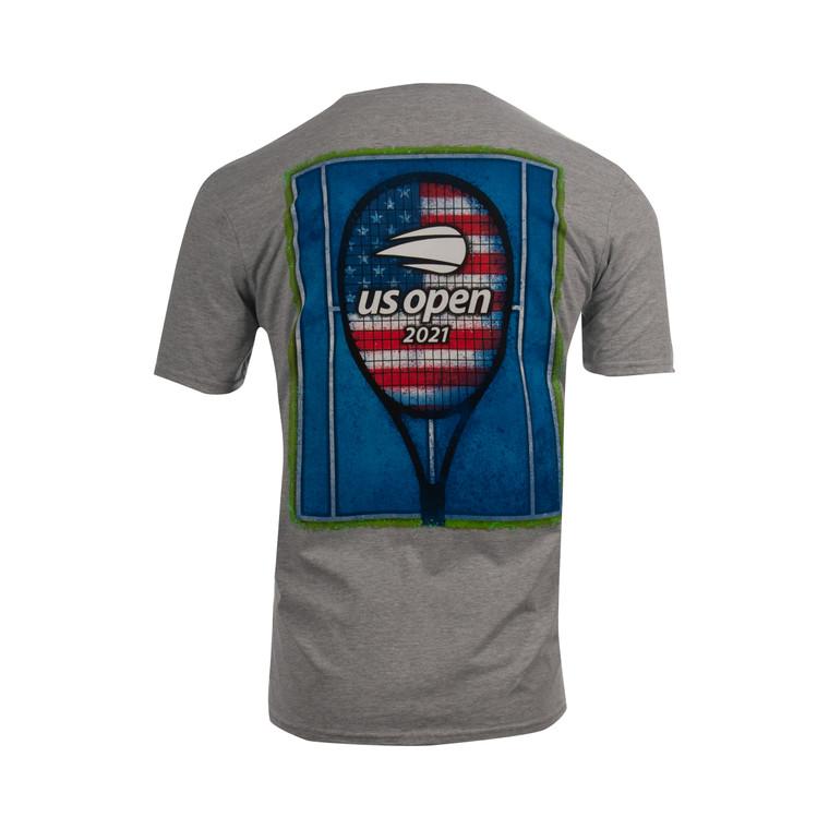 US Open Court and Racquet T-Shirt