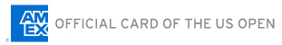 American Express is the official card of the US Open