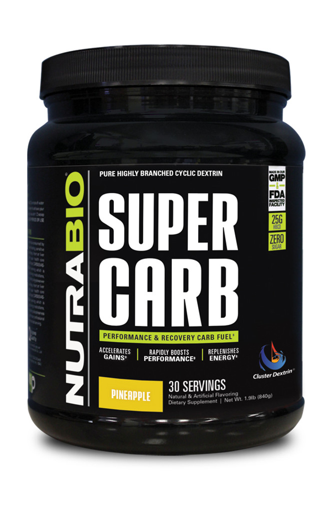 NUTRABIO - Super Carb 30 Servings