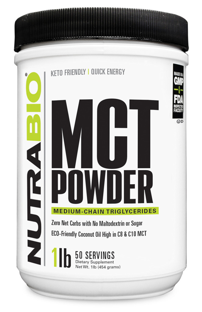 NUTRABIO - MCT Powder 1lb
