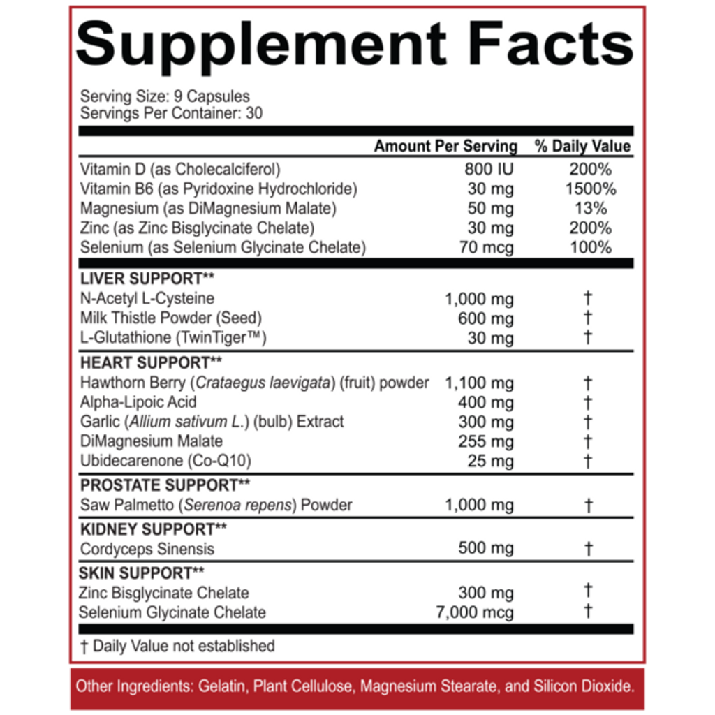 5% Nutrition- Liver & Organ