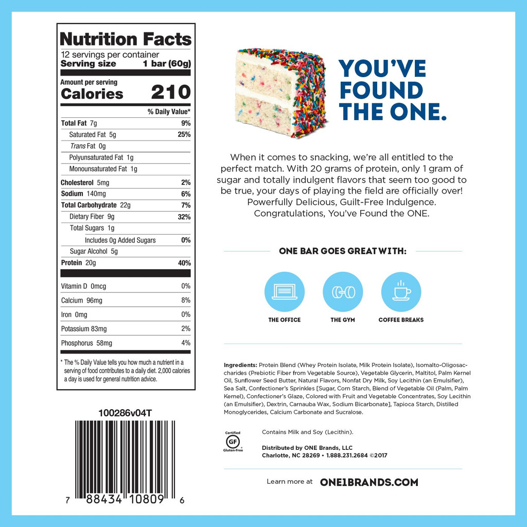 Oh Yeah- One Bar (Case of 24)