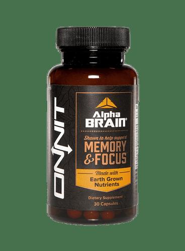 Onnit Labs- Alpha Brain 30/Caps