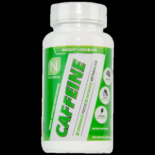 NUTRAKEY - Caffeine 100 caps