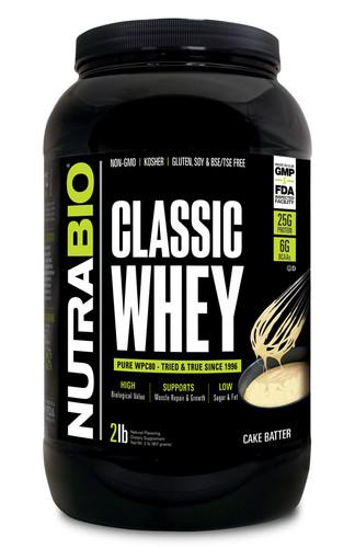 NUTRABIO - CLASSIC WHEY 2LB