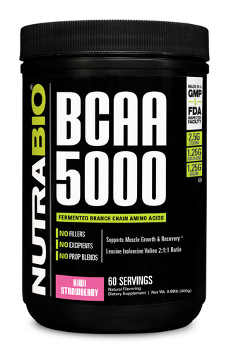 NUTRABIO - BCAA 5000 60 Servings