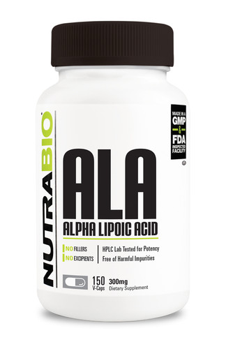 NUTRABIO - Alpha Lipoic Acid 300mg 150 caps