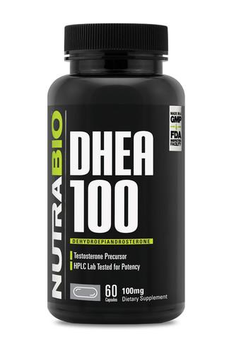 NUTRABIO - DHEA 100mg 60 caps