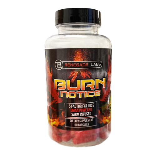 Renegade Labs - Burn Notice SARM Infused Fat Burner