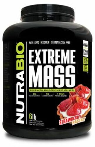 Nutrabio- Extreme Mass 6lb