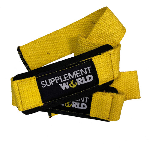 Lifting Wrist Straps- SW Branded