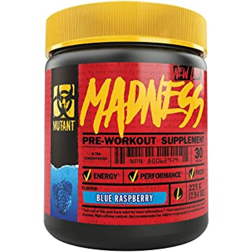 MUTANT NUTRITION - MADNESS PRE-WORKOUT