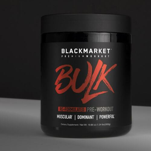 Black Market Labs- BULK pre-workout