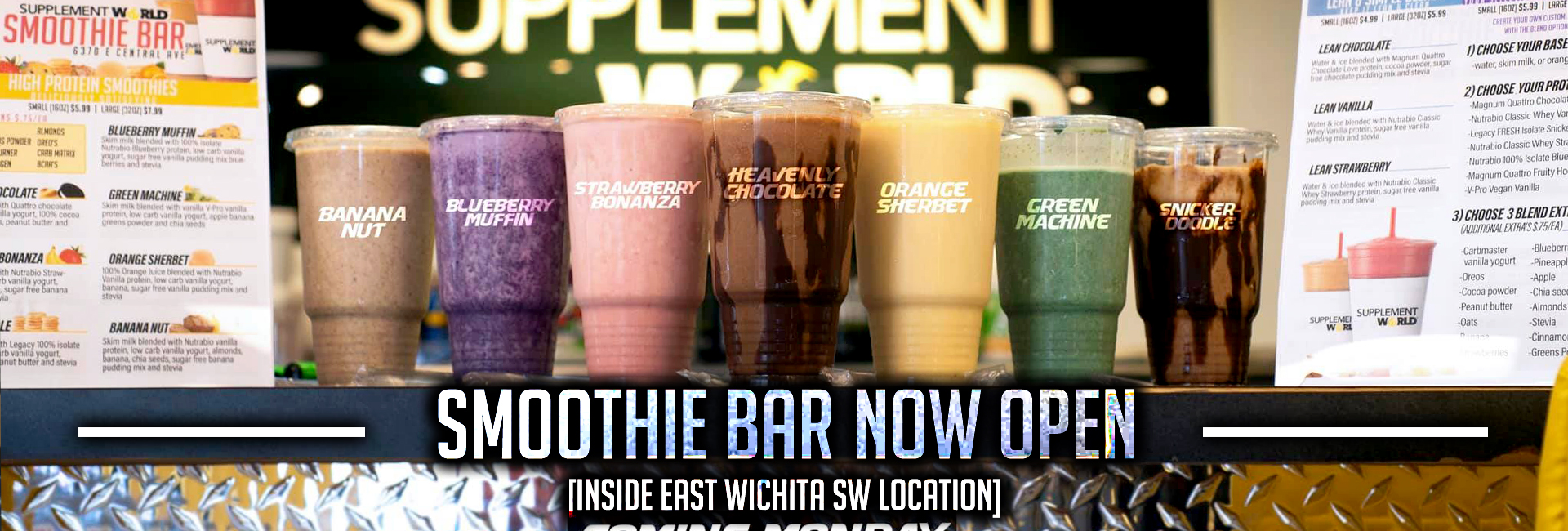 Supplement Stores in Wichita, KS and Oklahoma City, OK : Sports