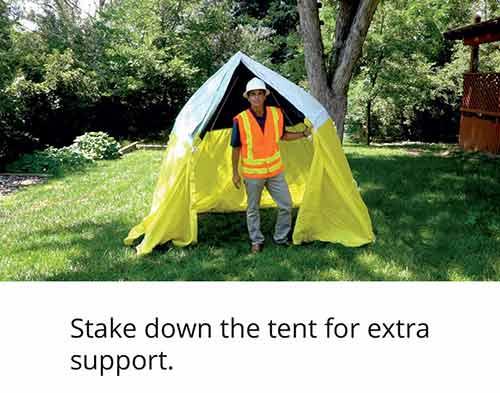 Tent Setup 3