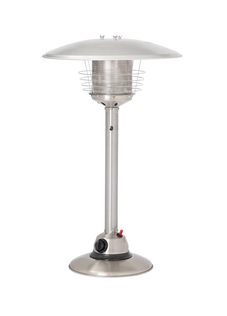 Gasmate Table Top Heater - Stainless Steel