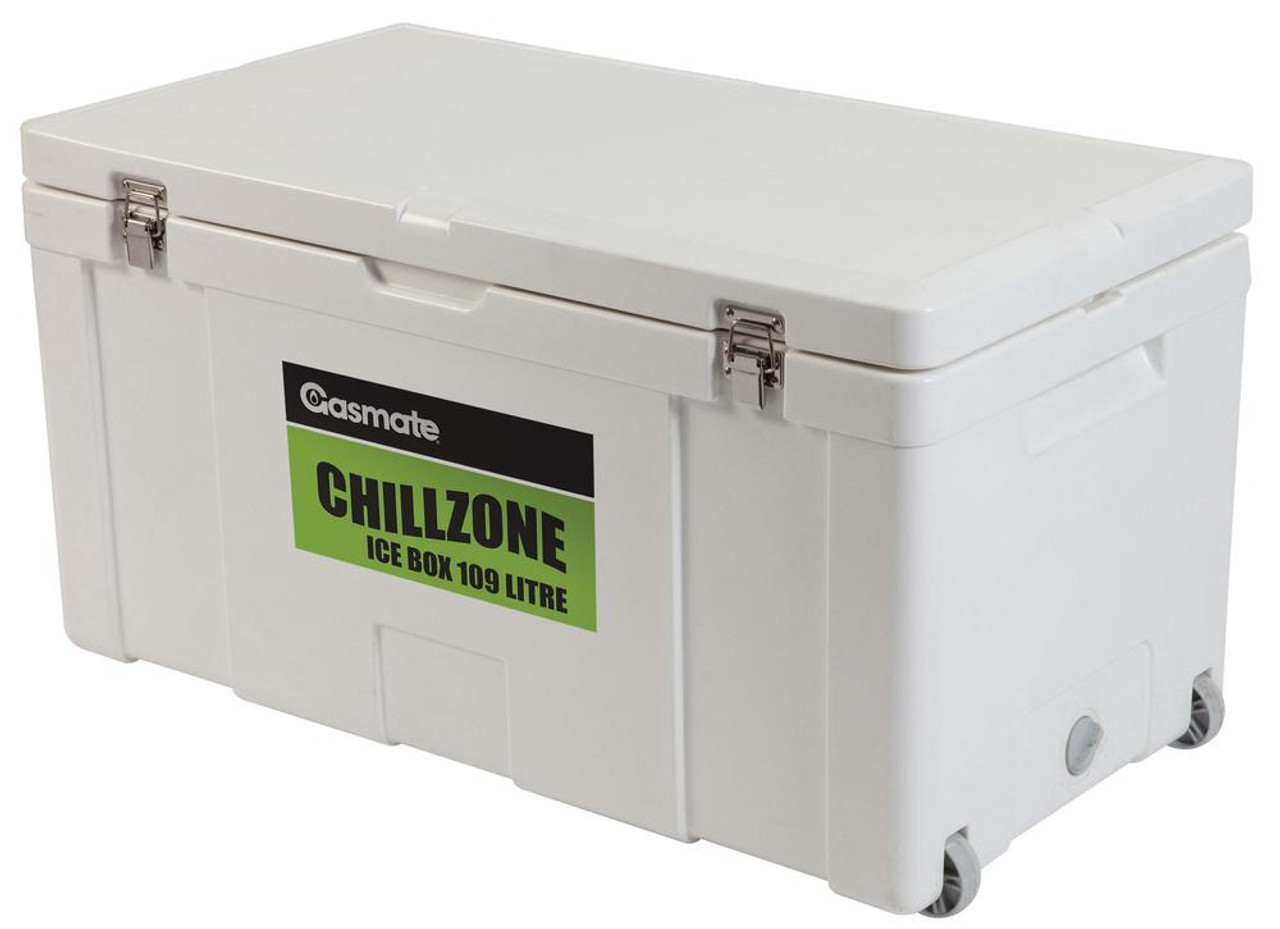 Gasmate Chillzone Ice Box 109 Litre with Wheels