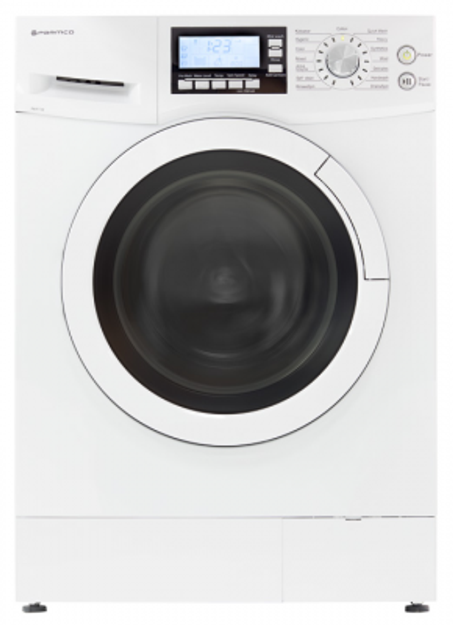 Parmco Front Loading white Washing Machine 7 kg